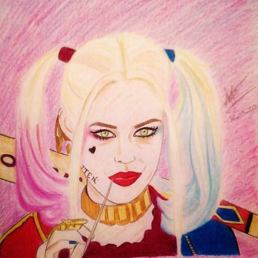 Margot Robbie by aline17